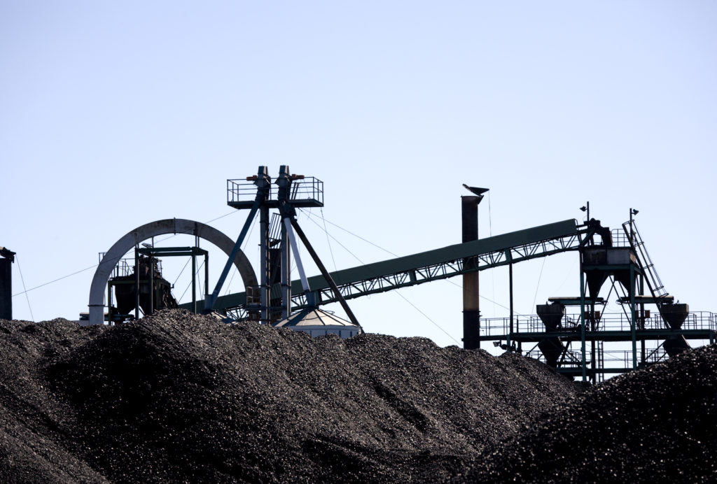 Chemieindustrie Kohle