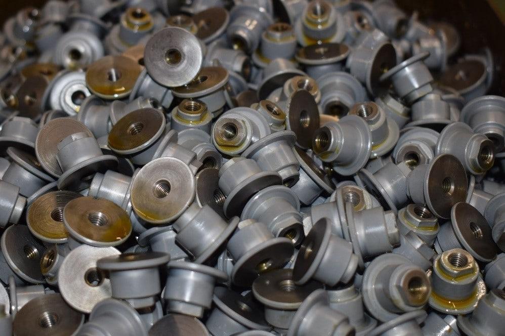 Duralloy TDC beschichtete Muttern zur Verbesserung des Verschleißschutzes von Aalberts Process Technologies
