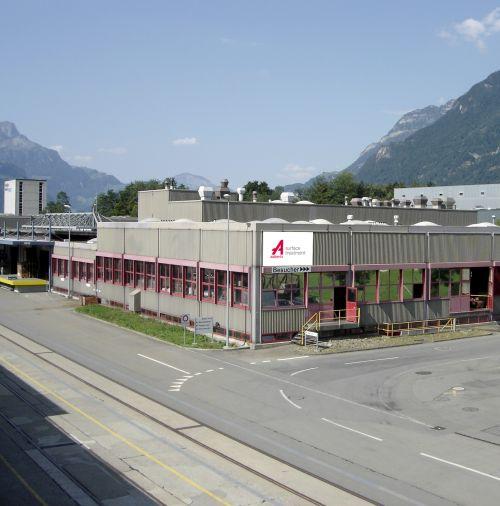 Reibwertminimierende Beschichtungen von Aalberts Process Technologies in Altdorf